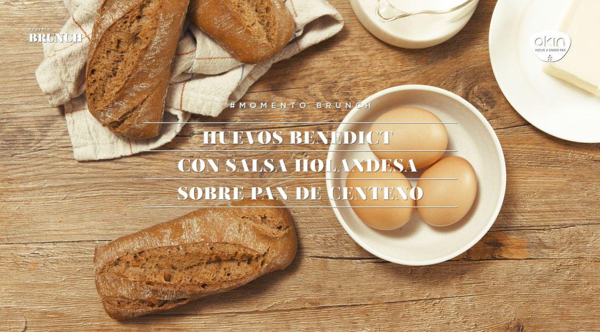 Uova alla Benedict con salsa Hollandaise su pane di segale